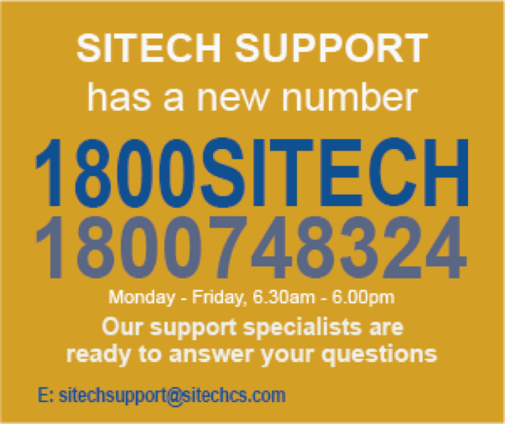 SITECH-Support